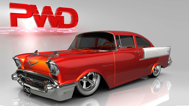 Cgtuts+ 1957 Chevy Black Widow Render Artist Critique