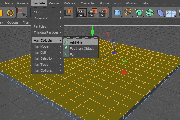 Cgtuts+ Tutorial Creating Dynamic Grass Using Cinema 4D's Powerful Hair Module