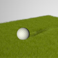 C4d dynamic grass thumb