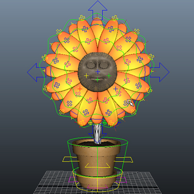 Flower rigging pt2 retina