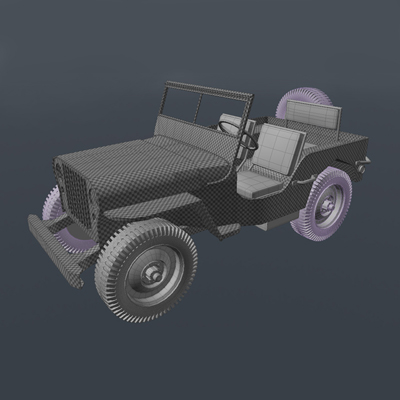 Modo willys uvmapping pt4 retina