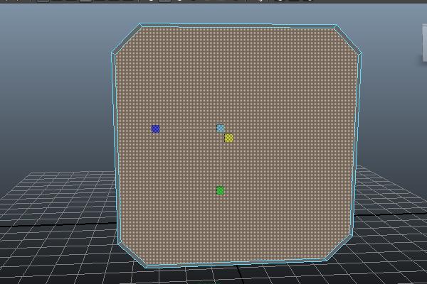 how to make rotation tool smaller maya