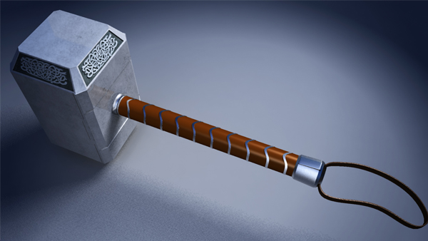 building thor s hammer in maya part 1
