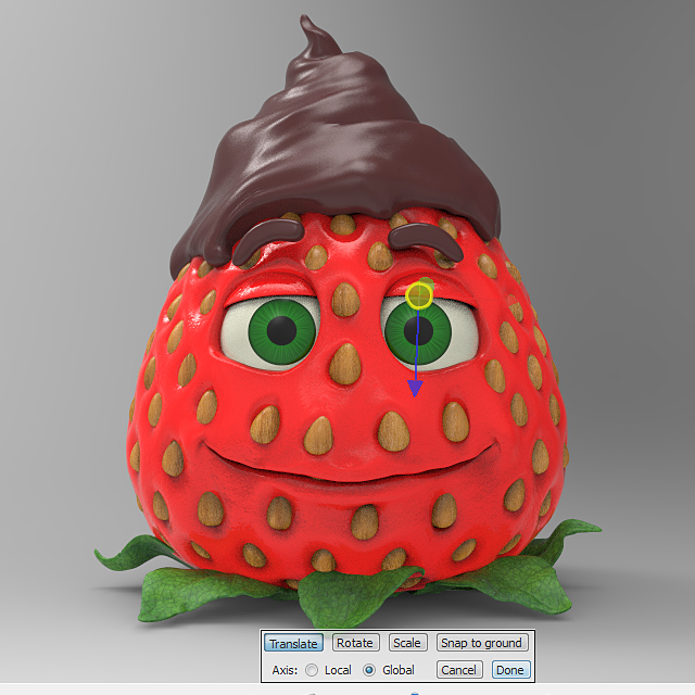 chocolate_dipped_strawberry_keyshot_rendering_step_10