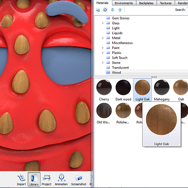 chocolate_dipped_strawberry_keyshot_rendering_step_5