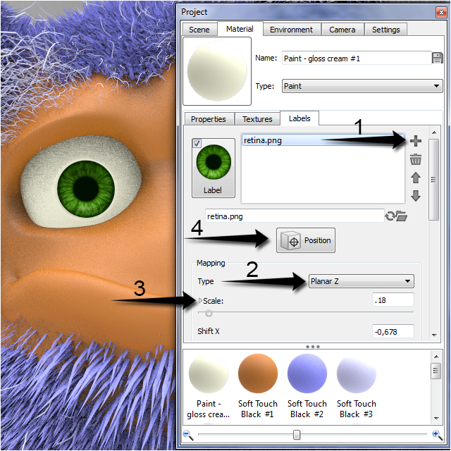fibermesh_tutorial_keyshot_rendering_step_4