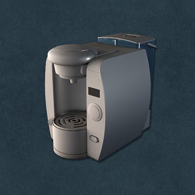 Preview for Advanced Poly Modeling - Tassimo T-65 Home Brewing Station: Part 6