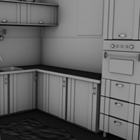 Preview for Model, Texture, and Render an Interior Scene With Cinema 4D and VRay: Part 1