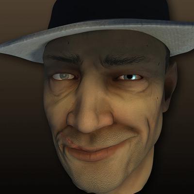 Max human face retina