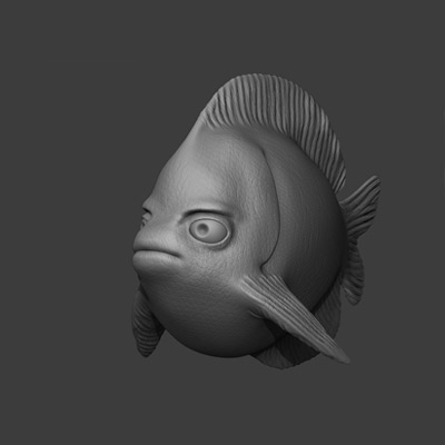 Zbrush shaded rendering techniques retina