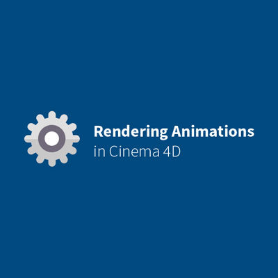 C4d rendering animations retina