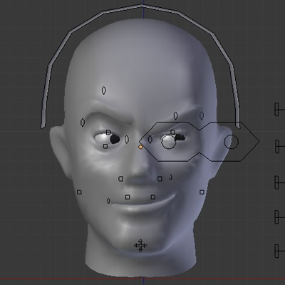 Preview for Create a Facial Animation Setup in Blender - Part 1