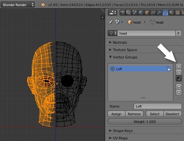 Maya facial setup