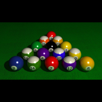 Preview for Pool Table Scene in 3ds Max 2009