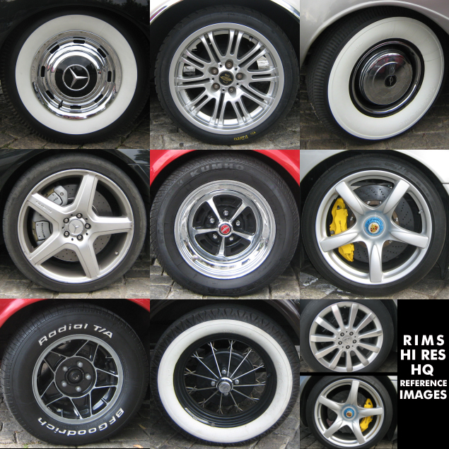 Freebie car rims reference pack 2 pack preview malvernweather Choice Image