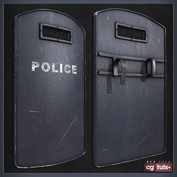 how to build a riot shield