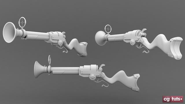 Free 3D Rifle Model in .obj format