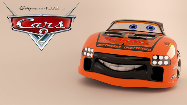 Free 3D Model From Pixar's Cars 2