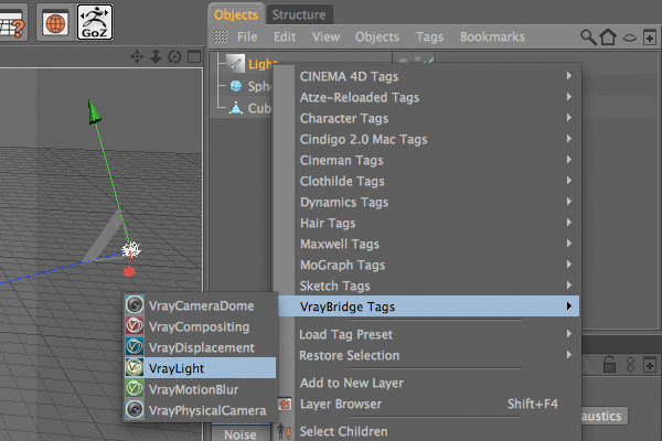 Quick Tip: Using VRay in Cinema 4D