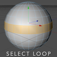 Preview for Quick Tip: Select Loop Plugin For C4D