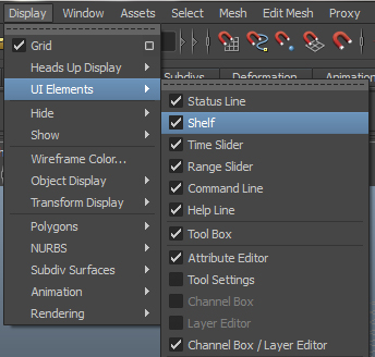 Tip Tutorial - Creating a Custom Shelf in Autodesk Maya