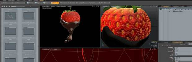Strawberry Model 3d Strawberry Modeling