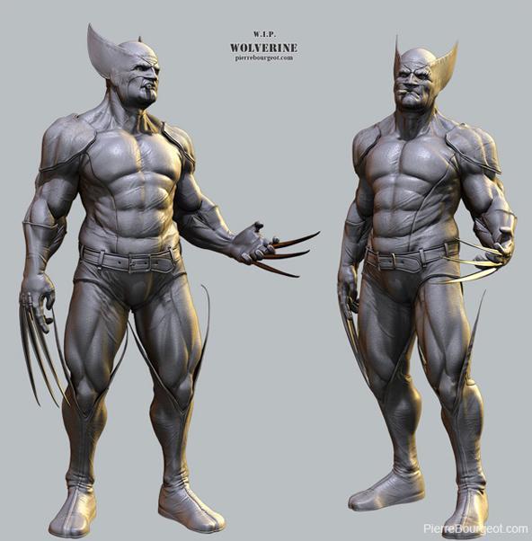 82 cg superheros villains and iconic movie and video - Wolverine cgi ...