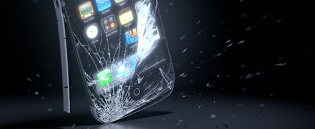Smash an iPhone