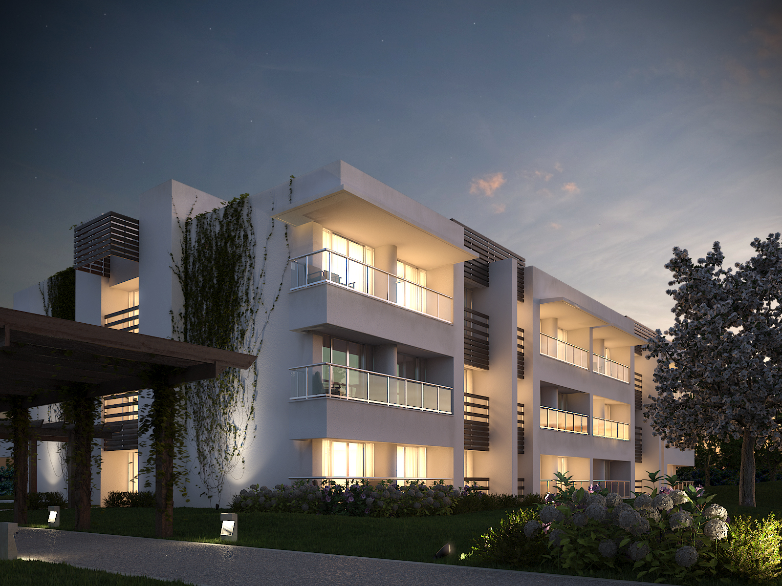 Image gallery modern residential architecture renderings for Residential architect