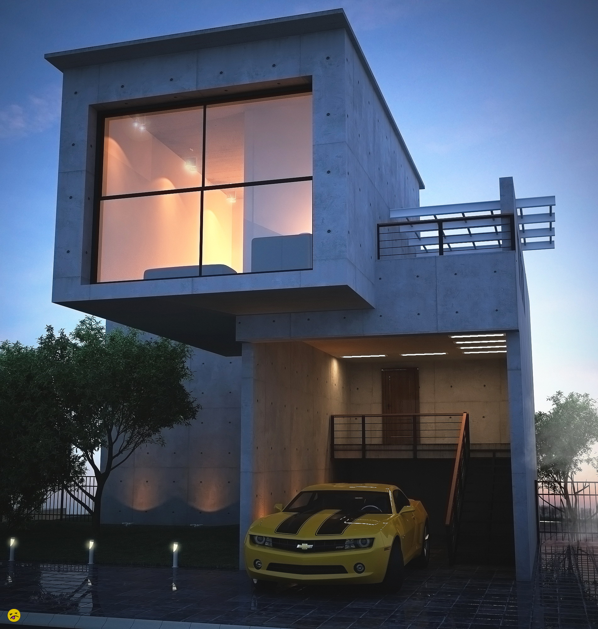 Beau 49. Concrete House