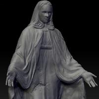 Zbrush statue sculpt thumb