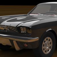 Mustang thumb