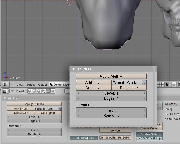 how to make a skull in blender