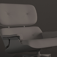 Preview for Model a Stylish Eames Lounge Chair In 3ds Max