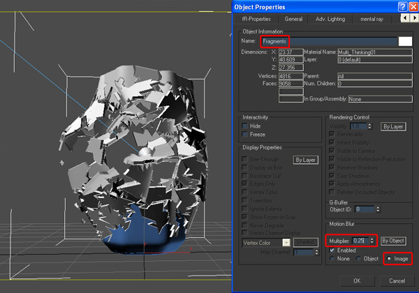 Ds Max Glass Shatter