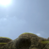 Preview for Create a Rocky Video Game Terrain in Blender: Part 4
