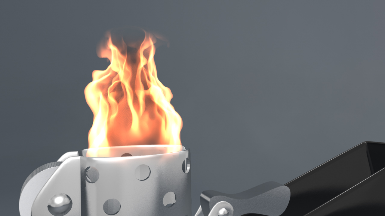 How to Create an Awesome Fire Effect Using Maya Fluids