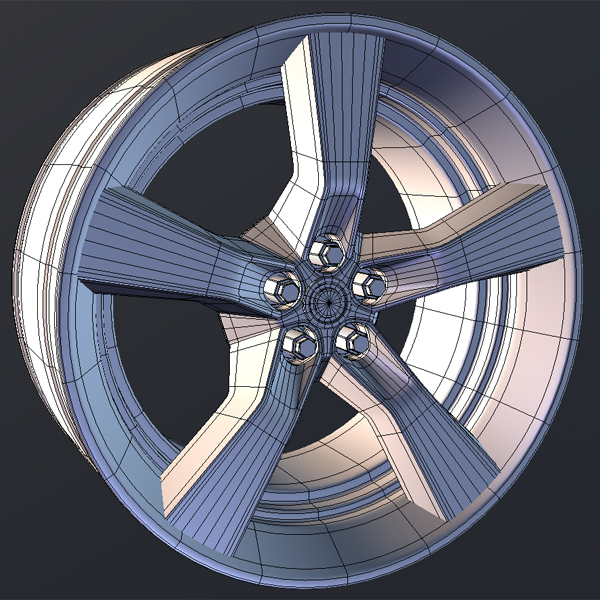 Model a high poly car wheel in 3ds max part 1 final effect preview malvernweather Choice Image