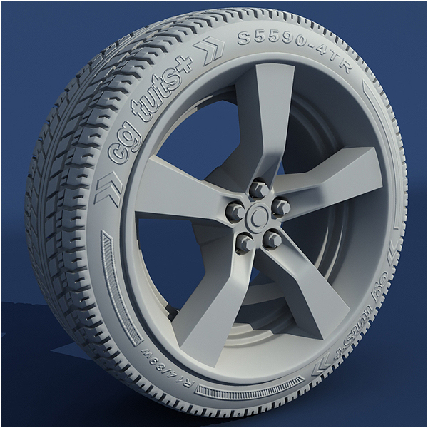 Model a high poly car wheel in 3ds max part 2 final effect preview malvernweather Images