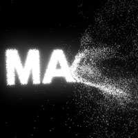 Preview for Animate a Logo Forming from Particles in Maya