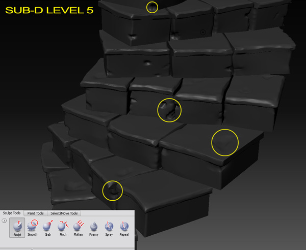 Sculpting a Modular Stone Staircase in Autodesk Mudbox