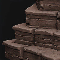 Preview for Sculpting a Modular Stone Staircase in Autodesk Mudbox
