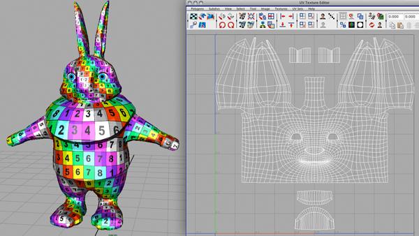 Lightwave tutorial: making a complex uv texture.