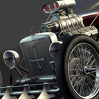Preview for Creating a Next-Gen Video Game Hot Rod: the Complete Workflow: Part 8