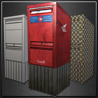 Preview for Create a Realistic Looking Mailbox using 3ds Max and UV Layout - Part 2