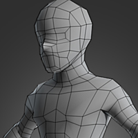 Preview for Character Modeling in Blender