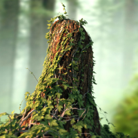 Preview for Create an Ivy Covered Tree Stump with 3ds Max, Ivy Gen, and VRay