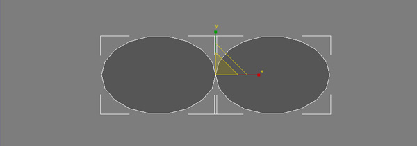 how to create shape using tow splines 3dsmax