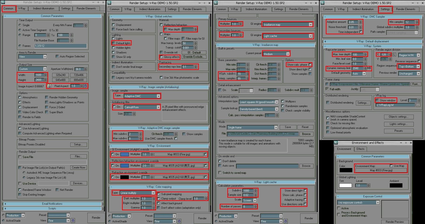 An Archiviz Workflow Overview in 3ds Max, Sketchup, and