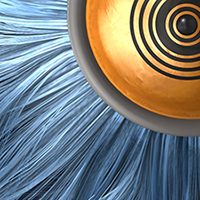 Preview for Create an Absract Furry Eye Scene using Cinema 4D